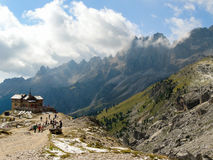 Dolomite alps Italy Stock Photography