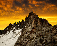 Dolomite Alps,Italy Royalty Free Stock Photos