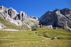Dolomite Alps, landscape Royalty Free Stock Image