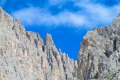 Dolomite Alps stock image