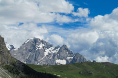 Dolomite Alps scenic landscape Royalty Free Stock Images