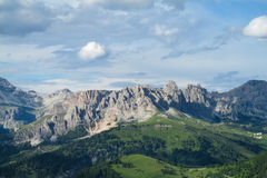 Dolomite Alps scenic landscape Royalty Free Stock Photography