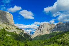 Dolomite Alps scenic landscape Stock Photography