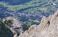 Dolomite - Cortina d Ampezzo Royalty Free Stock Photography