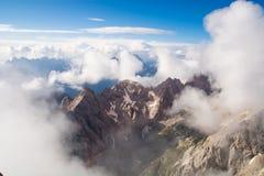 dolomite Italie d'alpes Photos libres de droits