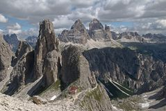 Dolomite, Italy Royalty Free Stock Photos
