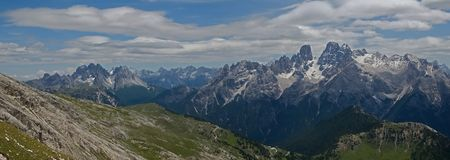 Dolomite, Italy Royalty Free Stock Photography