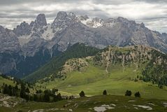 Dolomite, Italy Stock Images