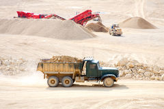 Dolomite Mines Royalty Free Stock Images