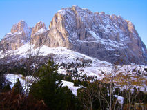 Dolomite Mountain Stock Images