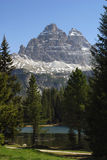 Dolomite mountain Stock Photo