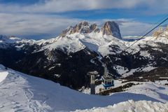 Dolomite mountain Stock Photography