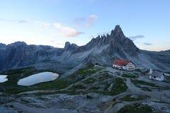 Dolomite mountain in Italy Stock Photo