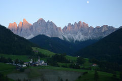 Dolomite mountain in Italy Royalty Free Stock Photography