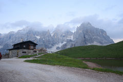 Dolomite mountain in Italy Stock Images