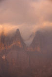 Dolomite mountain in Italy Royalty Free Stock Photo