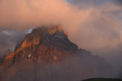 Dolomite mountain in Italy Stock Photo