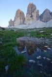 Dolomite mountain in Italy Stock Photos