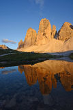 Dolomite mountain in Italy Royalty Free Stock Image