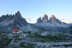 Dolomite mountain in Italy Stock Photography
