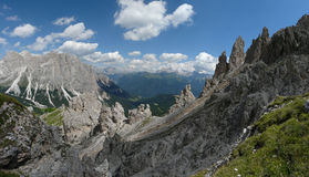 Dolomite mountain landscape Royalty Free Stock Photo