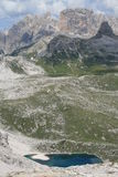 Dolomite mountains Stock Photography