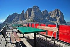 Dolomite Mountains Stock Photo