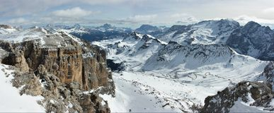 Dolomite mountains Royalty Free Stock Photos