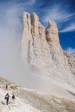 Dolomite mountains Stock Photography