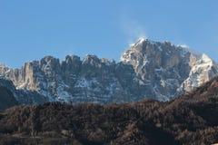 Dolomite mountains Royalty Free Stock Photos