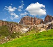 Dolomite peaks,Sella Stock Image