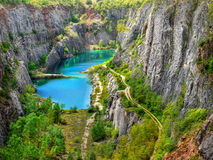 Dolomite Quarry, Big America Royalty Free Stock Image