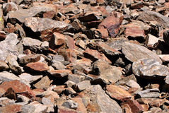 Dolomite rock textures Royalty Free Stock Photo