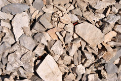 Dolomite rock textures Stock Images