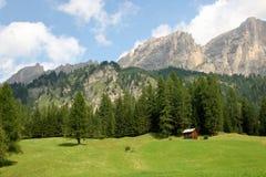 Dolomite`s landscape Royalty Free Stock Photography