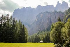 Dolomite`s landscape Stock Images