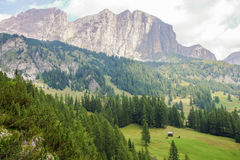 Dolomite`s landscape Stock Photo