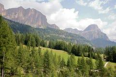 Dolomite`s landscape Stock Photography