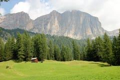 Dolomite`s landscape Royalty Free Stock Photo