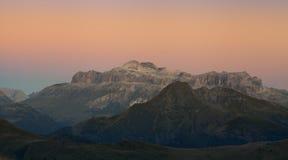 Dolomite Sunset-Italy Stock Images