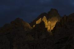 Dolomite Sunset-Italy Stock Image