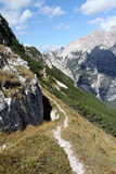 Dolomite Trail stock photography