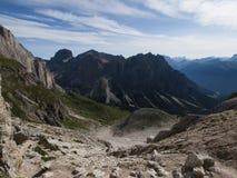 Dolomite valley Stock Photos