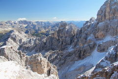Dolomite View Stock Photography