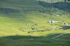 Dolomite village in Italy Stock Photos