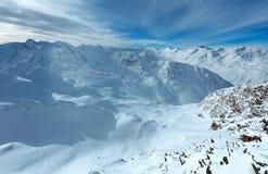 Dolomiten Alps winter view (Austria) Stock Photography