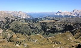 Dolomiten em Itália imagens de stock royalty free