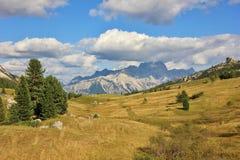 Dolomiten em Itália foto de stock