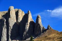 Dolomiten Panorama Royalty Free Stock Photos