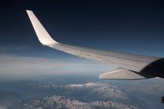 Dolomites. Aeroplane view Dolomites Italy Europe Royalty Free Stock Photography